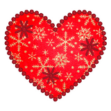 Love Heart Applique machine embroidery design by rosiedayembroidery.com