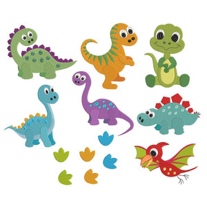 Baby dinosaur machine embroidery designs by rosiedayembroidery.com