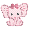 Baby Elephant Applique (SA545-2)