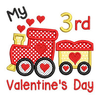 My 3rd Valentine's Train (SA546-20)
