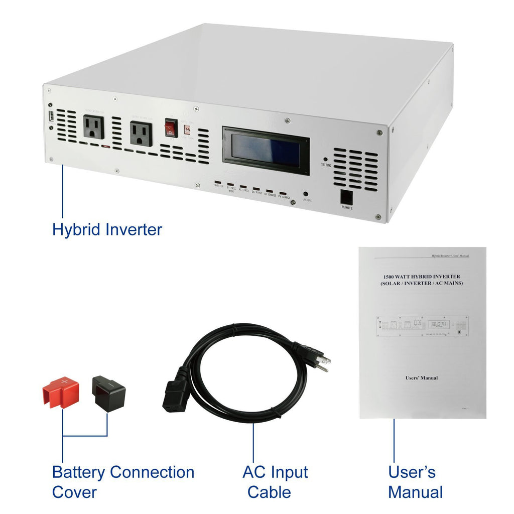 Automaxx 1500W [ 24V 62A Hybrid Pure Sine Power Inverter ]