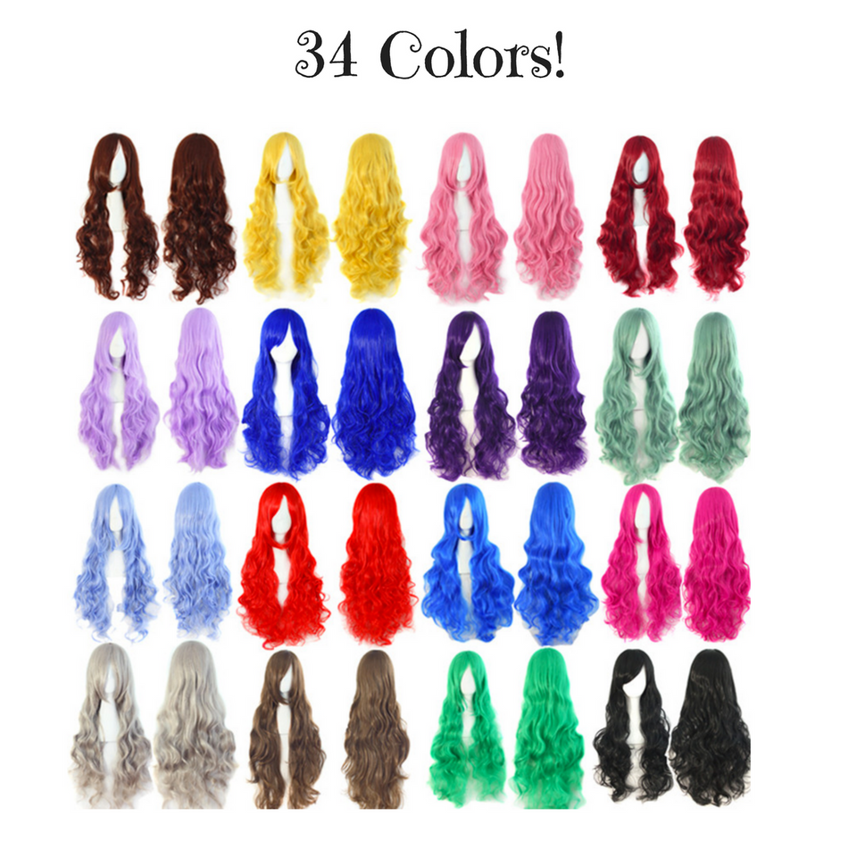 Vivid Pixie Cosplay Wigs (34 Colors Available)