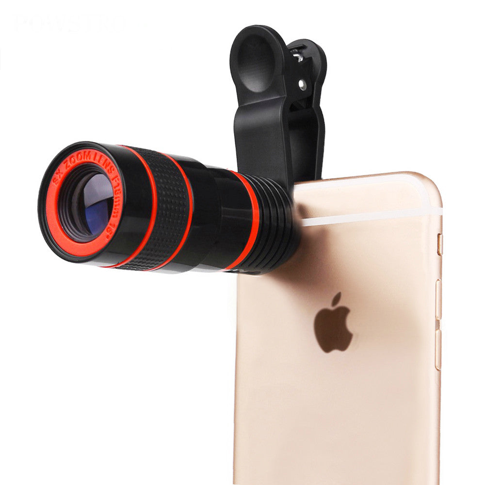 Mobile Phone 8x Zoom Lens