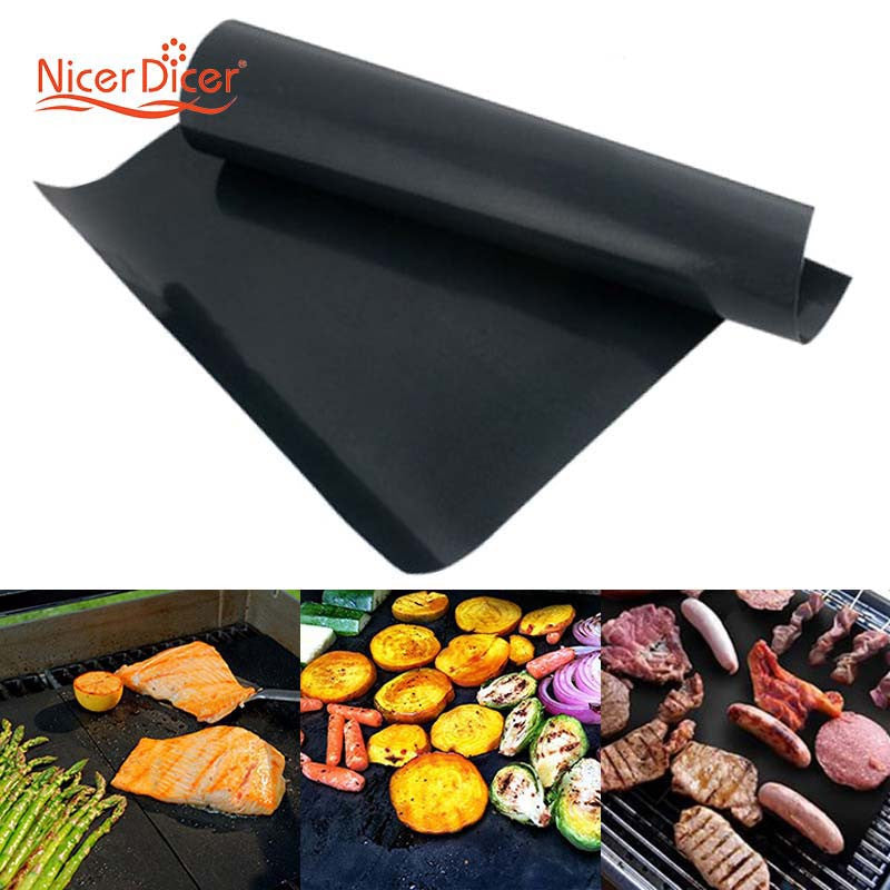 Reusable No Stick BBQ Grill Mat (2 Pack)