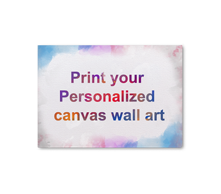 Personalized Canvas Wall Art Printing (GICLEE Prints For Artists & Home Decor)