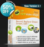 123 Video Magic Pro Green Screen Video Editing Software - Backdropsource India - 1