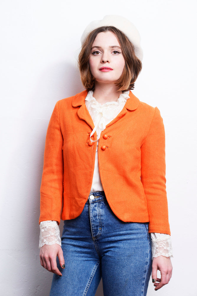 1960s Orange Kate Jacket - Loversvintage