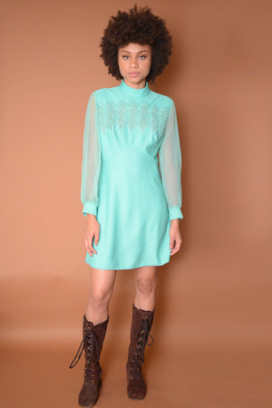 Vintage Surely Mint Sixties Dress
