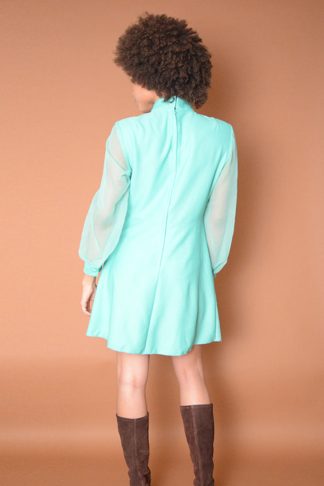 Vintage Surely Mint Sixties Dress - Loversvintage