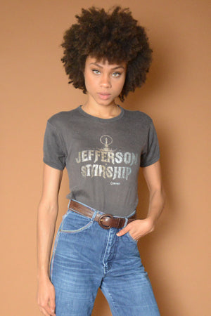 Jefferson Starship Glitter Tee
