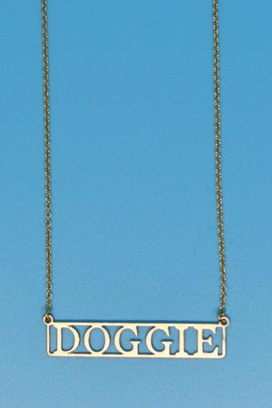 Doggie Lovers Necklace - Lovers Vintage