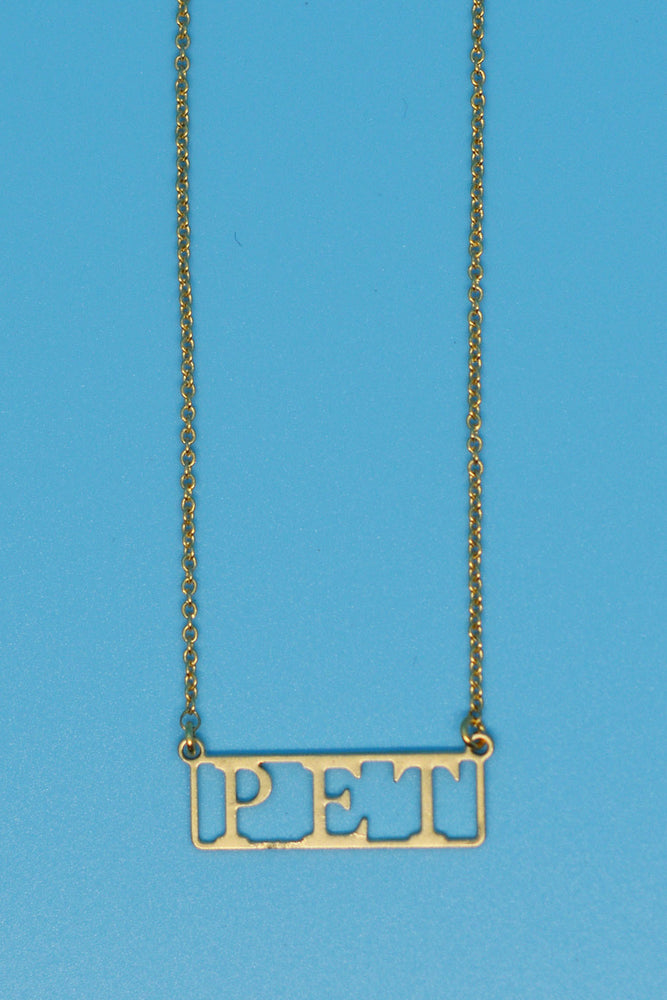 Pet Lovers Necklace - Loversvintage