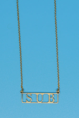 Sub Lovers Necklace