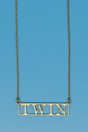 Twin Lovers Necklace