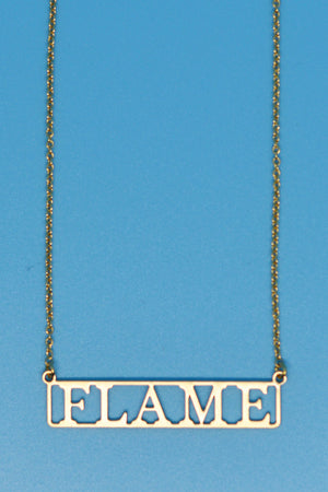 Flame Lovers Necklace