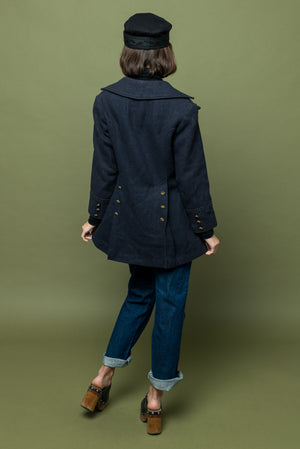 Vintage Beatle Bum Coat