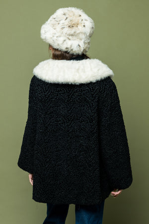 Vintage Fur Trim Coat - Loversvintage