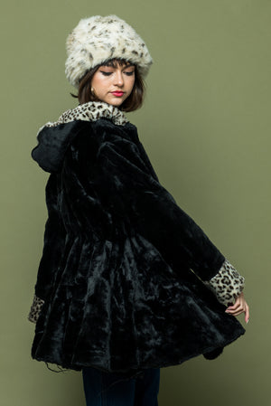 Vintage Leopard Ladies Coat