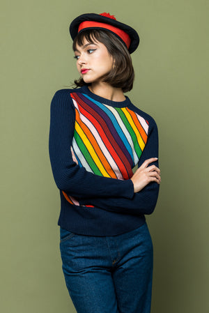 Pocketful of Rainbows Sweater - Lovers Vintage