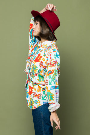 Westward Printed Shirt