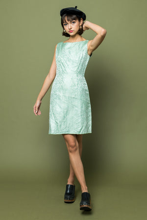 Mint Party Holiday Dress