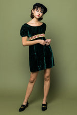 Party Velvet Dress - Loversvintage
