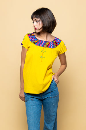 Vintage Summer's in Marfa Blouse