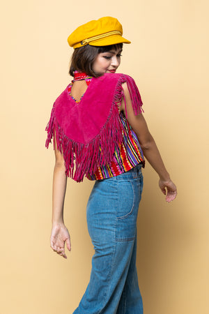 Vintage Punch Poncho