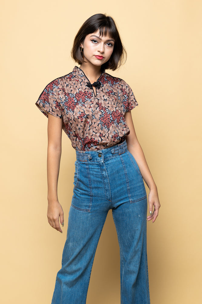 Load image into Gallery viewer, Vintage Love her Madly Blouse - Loversvintage