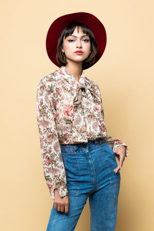Vintage Lovers Floral Blouse