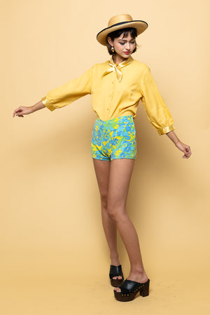 Vintage Sixties Safari Shorts