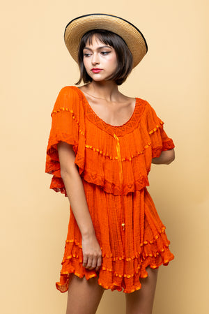 Orange You Glad Your Mine Vintage Dress
