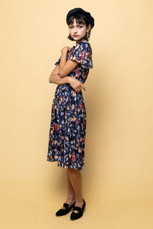 Vintage Lovers Midi Dress