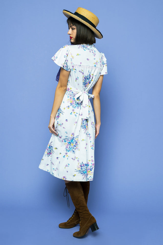 Load image into Gallery viewer, Vintage Midi Summer Dream Dress - Lovers Vintage