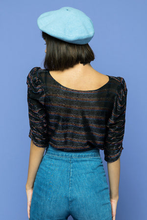 Load image into Gallery viewer, Disco Glitter Blouse - Lovers Vintage