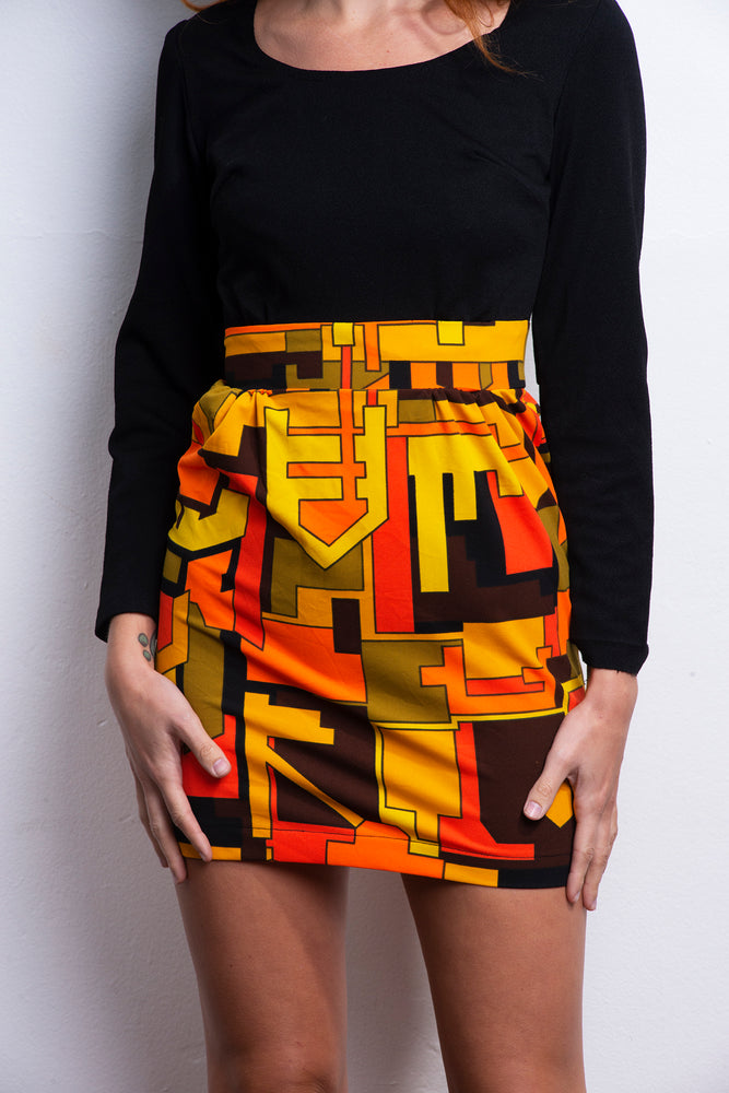 Mod Mini Electric Orchestra Dress - Loversvintage
