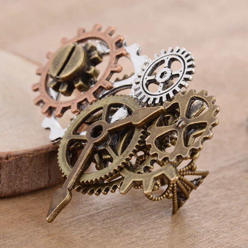 Plenty Of Gears Steampunk Ring - Steampunk Authority
