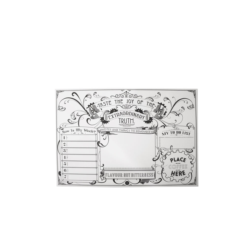 TRUTH DESK PAD - Truth Coffee Roasting
