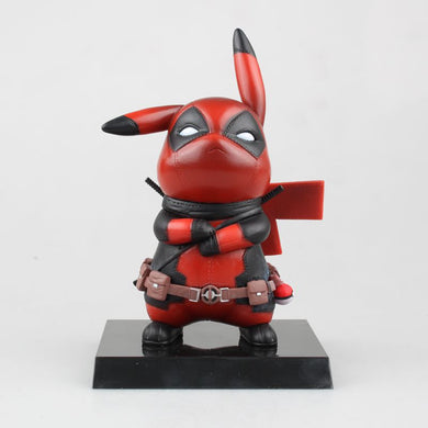 Deadpool Action Figure Pikachu Cosplay collectible