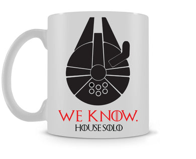 House Solo Mug / Game of Thrones Star Wars coffee
