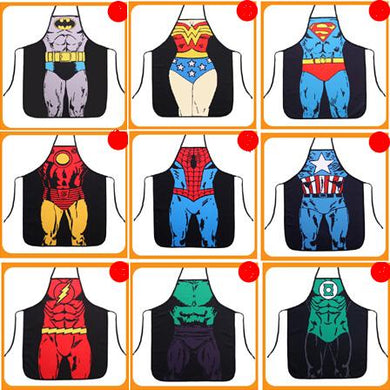Cooking Kitchen Superhero Apron