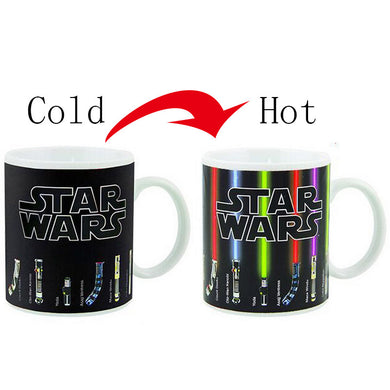 Star Wars Heat Coffee Mug Lightsaber