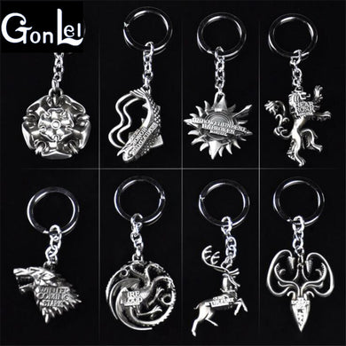 Game Of Thrones Keychain Pendants