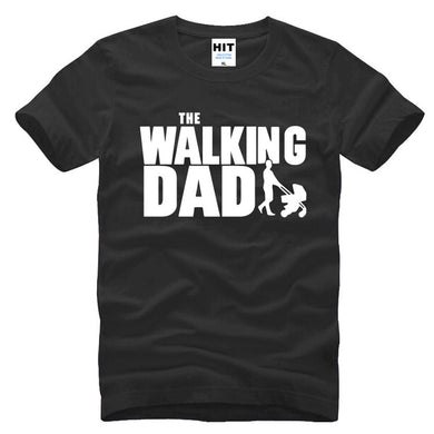 The Walking Dad  Funny T-Shirt