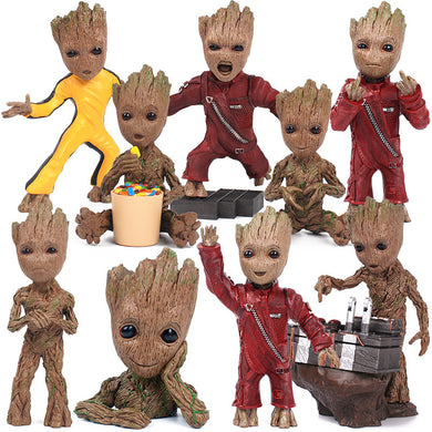 17.5cm Expressions Groot Figures Resin Collection