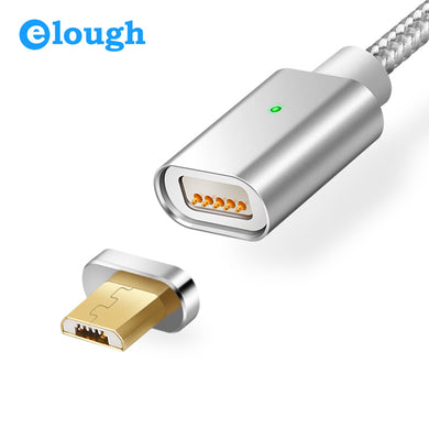 Magnetic Charger Cable Micro USB Cable For Android  Fast Charge Magnet