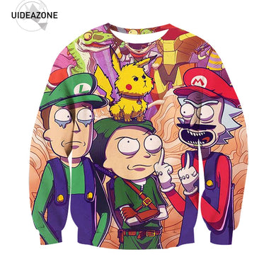 Rick and Morty Brand Sweatshirt Men Women 3d sweaters