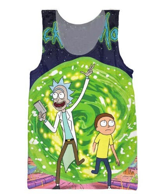 Rick and Morty Tank Tops for Women and Men