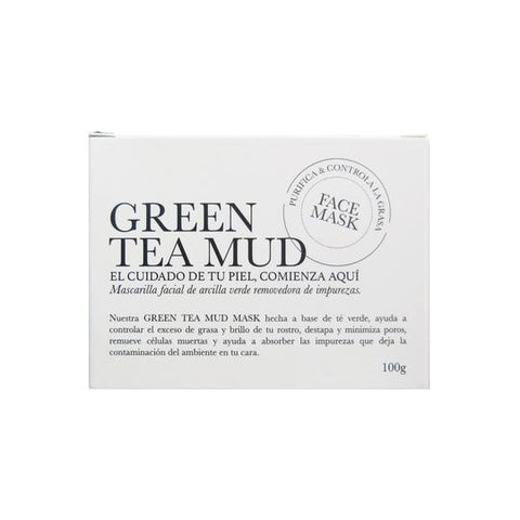 GREEN TEA MUD FACE MASK - ENNYA BEAUTY