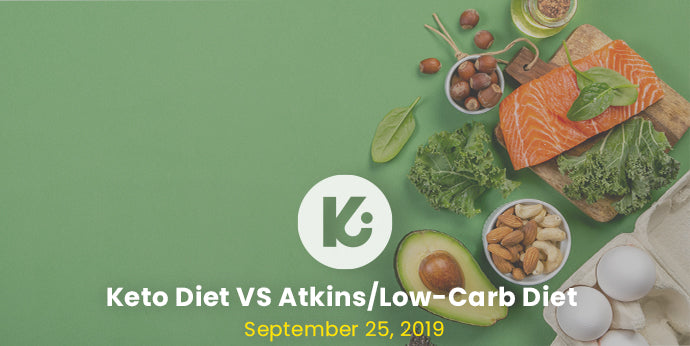 Keto Diet vs Atkins/Low-Carb Diet